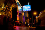 The Riptide, originally known as the Oar House and has seen the likes of Herb Caen and fishermen, is a knotty-pine dive bar that features surf flicks on Wednesdays, and bingo and live music on Saturday nights, in the Outer Sunset, San Francisco, on Saturday, Oct. 23, 2010.