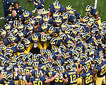 University of Michigan 30-10 football victory over Connecticut at Michigan Stadium in Ann Arbor, MI, on September 4, 2010.