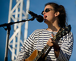 Maria McKee performs at the Balboa Beach Music Fest October 13, 2012.