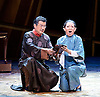 Thunderstorm <br /> by MO Fan <br /> based on the drama by Cao Yu <br /> Shanghai Opera House at The London Coliseum, London, Great Britain <br /> rehearsal <br /> 10th August 2016 <br /> <br /> <br /> <br /> Zhang Jianlu as Zhou Puyuan <br /> <br /> Li Na as Shiping <br /> <br /> <br /> Photograph by Elliott Franks <br /> Image licensed to Elliott Franks Photography Services