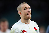 Mike Brown of England of England looks on after the match. RBS Six Nations match between England and Italy on February 26, 2017 at Twickenham Stadium in London, England. Photo by: Patrick Khachfe / Onside Images