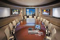Conference Room With Multi Media Presentation Smart Board