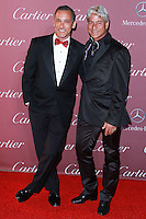 PALM SPRINGS, CA, USA - JANUARY 03: Greg Louganis, Johnny Chaillot arrive at the 26th Annual Palm Springs International Film Festival Awards Gala Presented By Cartier held at the Palm Springs Convention Center on January 3, 2015 in Palm Springs, California, United States. (Photo by David Acosta/Celebrity Monitor)