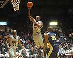 "Ole Miss guard Zach Graham (32) shoots at the C.M. ""Tad"" Smith Coliseum in Oxford, Miss. on Wednesday, November 17, 2010."