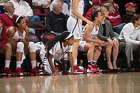 STANFORD, CA -  January 8, 2016: Stanford beats Utah 72-52 in Maples Pavilion.