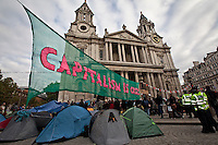 "16.10.2011 - Occupy LSX - ""Capitalism Is Crisis"""