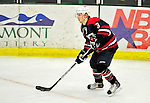 29 December 2010: The 2011 U.S. Men's National University Team's Kevin Morrison, a defenseman attending Niagara University, in action against the University of Vermont Catamounts in an exhibition game at Gutterson Fieldhouse in Burlington, Vermont. The Catamounts defeated the National team 7-1. Mandatory Credit: Ed Wolfstein Photo