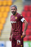 St Johnstone v Motherwell...22.08.15  SPFL   McDiarmid Park, Perth<br /> Keith Lasley<br /> Picture by Graeme Hart.<br /> Copyright Perthshire Picture Agency<br /> Tel: 01738 623350  Mobile: 07990 594431