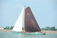ZEILEN: STAVOREN: IJsselmeer, 26-07-2014, SKS skûtsjesilen, Lemster skûtsje, schipper Albert Visser, ©Martin de Jong