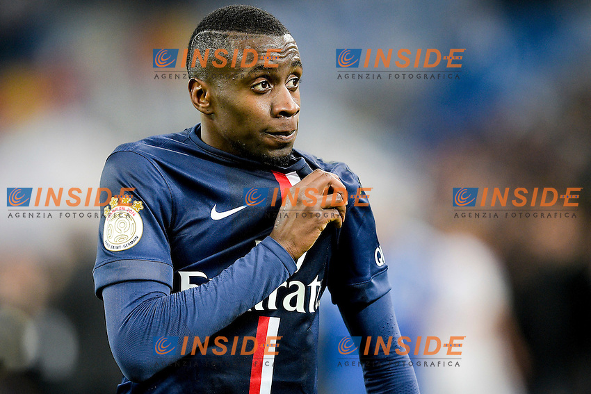 joie de Blaise Matuidi (PSG) en fin de match <br /> Football Calcio 2014/2015<br /> Ligue 1 Francia Stadio VelodromeOlympique Marsiglia - Paris Saint Germain <br /> Foto Panoramic / Insidefoto <br /> ITALY ONLY