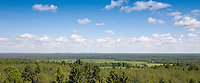 View from Emumägi Watchtower, Jõgeva County, Estonia, Europe