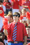 Ole Miss student section vs. Auburn at Vaught-Hemingway Stadium in Oxford, Miss. on Saturday, October 13, 2012. (AP Photo/Oxford Eagle, Bruce Newman)..