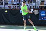 14 May 2016: Dartmouth's Roko Glasnovic (CRO). The Tulane University Green Wave played the Dartmouth College Big Green at the Cone-Kenfield Tennis Center in Chapel Hill, North Carolina in a 2015-16 NCAA Division I Men's Tennis Tournament First Round match. Tulane won the match 4-0.