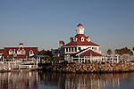 Parker's Lightouse Restaurant and bar at Shoreline Village on Rainbow Harbor in Downtown Long Beach, CA