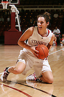 STANFORD, CA - NOVEMBER 20:  Ashley Cimino of the Stanford Cardinal during Stanford's 84-46 win over the University of New Mexico on November 20, 2008 at Maples Pavilion in Stanford, California.
