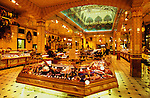 Europe, England, London. Harrods Food store. 1996.'MEAT' across the World..foto © Nigel Dickinson