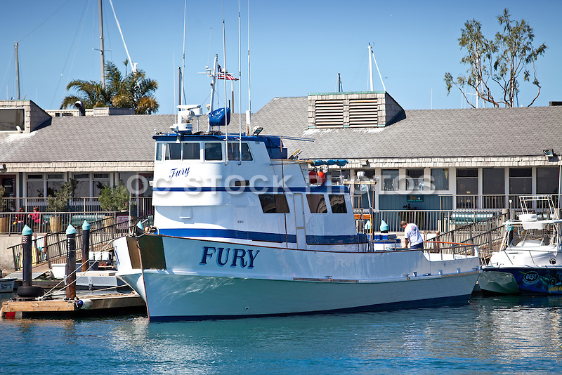 The fury fishing boat in the dana point harbor socal for Fishing dana point