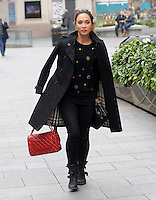 NOV 19 Myleene Klass at Capital Radio
