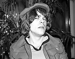 David Johansen at a party for the band Tornader in March 1977.