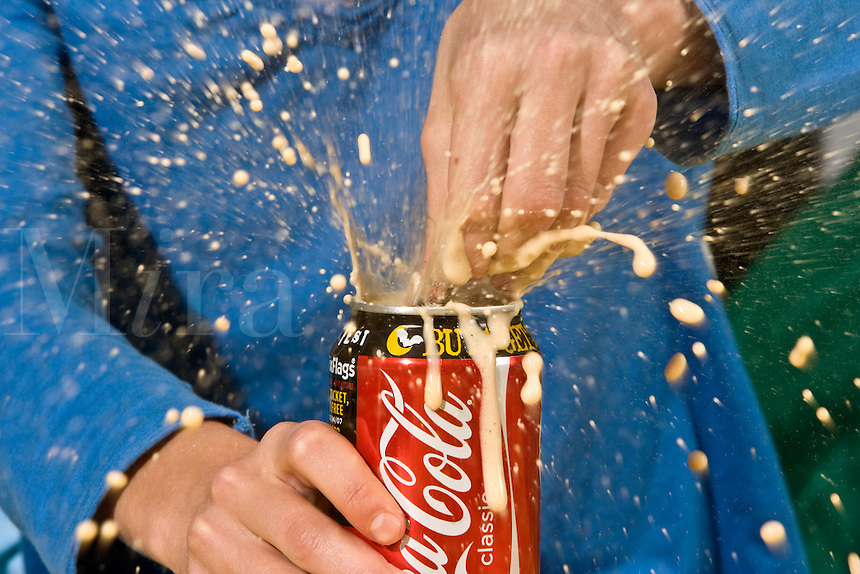 Exploding Soda Can