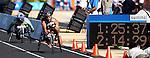 Clayton Gerein obtient la médaille de bronze au marathon des jeux paralympiques dans la catégorie T52 .  (Jean-Baptiste Benavent 26 septembre).