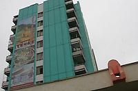 Erdenet, città mineraria a nord della Mongolia, edifici di origine sovietica Sede della Erdenet Mining Company