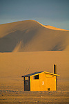 Dumont Dunes near Tecopa, Calif...Outhouse 3 at the dunes