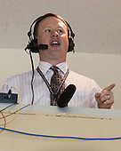 Jon Rish returned as play-by-play man for Boston College radio broadcasts. - The Boston College Eagles defeated the visiting Rensselaer Polytechnic Institute Engineers 7-2 on Sunday, October 13, 2013, at Kelley Rink in Conte Forum in Chestnut Hill, Massachusetts.