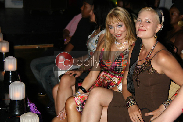 Lorielle New and friend<br />