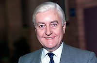 Peter Temple-Morris, MP, politician, Conservative Party, UK, 19901052PTM..Copyright Image from Victor Patterson, 54 Dorchester Park, Belfast, UK, BT9 6RJ..Tel: +44 28 9066 1296.Mob: +44 7802 353836.Voicemail +44 20 8816 7153.Skype: victorpattersonbelfast.Email: victorpatterson@me.com.Email: victorpatterson@ireland.com (back-up)..IMPORTANT: If you wish to use this image or any other of my images please go to www.victorpatterson.com and click on the Terms & Conditions. Then contact me by email or phone with the reference number(s) of the image(s) concerned.