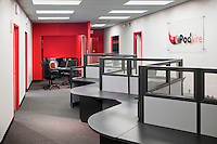 Custom Commercial Office Space With Custom Desk