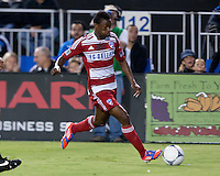 Santa Clara, California - Saturday July 18, 2012: FC Dallas' Fabian Castiilo in action during a game against San Jose Earthquakes at Buck Shaw Stadium, Stanford, Ca   San Jose Earthquakes defeated FC Dallas 2 - 1.