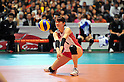 Mai Yamaguchi (JPN), .NOVEMBER 17,2011 - Volleyball : FIVB Women's Volleyball World Cup 2011,4th Round Tokyo(A) during match between Japan 3-2 Germany at 1st Yoyogi Gymnasium, Tokyo, Japan. (Photo by Jun Tsukida/AFLO SPORT) [0003].