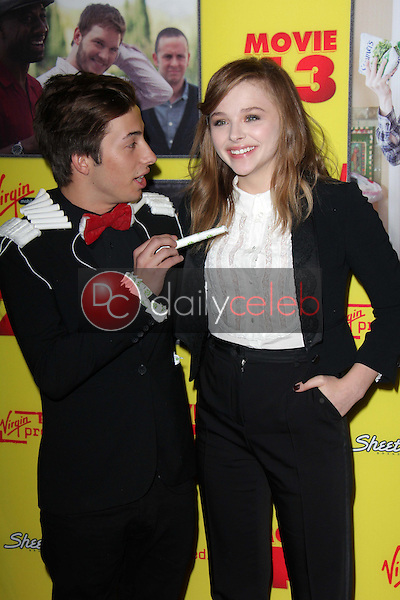 Jimmy Bennett, Chloe Grace Moretz<br />