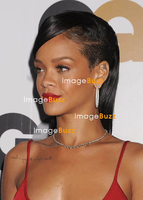 LOS ANGELES, CA - NOVEMBER 13: Rihanna arrives at the GQ Men Of The Year Party at Chateau Marmont Hotel on November 13, 2012 in Los Angeles, California.