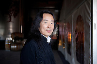 Yang Lian ( Yáng Liàn) Nonino Price 2012.Is a Chinese poet associated with the Misty Poets and also with the Searching for Roots school. He was born in Bern, Switzerland.  © Leonardo Cendamo