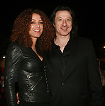 Actor Federico Castelluccio and Model Yvonne Maria Schaefer attend The 2011 Figure Skating in Harlem - Skating with the Stars Honoring Tina and Terry Lundgren, Sarah Hughes and Lola C. West at the Wollman Rink, NY 4/4/11