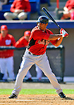 7 March 2011: Houston Astros' infielder Anderson Hernandez in action during a Spring Training game against the Washington Nationals at Space Coast Stadium in Viera, Florida. The Nationals defeated the Astros 14-9 in Grapefruit League action. Mandatory Credit: Ed Wolfstein Photo