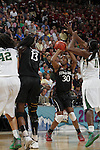 01 APRIL 2012:  Forward Nnemkadi Ogwumike (30) of Stanford University (30) takes a shot against Baylor University during the Division I Women's Final Four semifinals at the Pepsi Center in Denver, CO.  Baylor defeated Stanford 59-47 to advance to the championship final.  Jamie Schwaberow/NCAA Photos