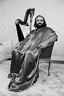 13 Oct 1979, Beverly Hills, California, USA. Greek singer and performer Artemios (Demis) Ventouris Roussos at his home in Beverly Hills. Demis Roussos had a string of international hit records. He has sold over 60 million albums worldwide.