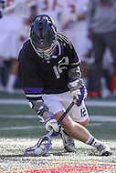 College Park, MD - February 18, 2017: High Point Panthers Jason Ashwood scopes up the ball during game between High Point and Maryland at  Capital One Field at Maryland Stadium in College Park, MD.  (Photo by Elliott Brown/Media Images International)