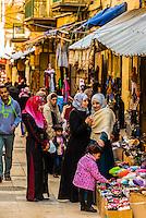 Street market, As-Salt, Jordan.