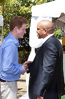 Prince Harry on a three day visit to Barbados, visits the Garrison Museum in Bridgetown, and attends a Children's Garden Party, and watch's a cultural performance by local Barbados performers.<br /> Meets with Prince Seeiso of Lesotho