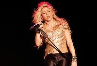 DOMINICANA, Santo Domingo, March 30, 2011.Colombia pop singer Shakira performs during her concert in The Sun Comes Out World Tour in Santo Domingo. VIEWpress / Eduardo Munoz Alvarez