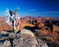 Ron Atine - Dineh Guide & Dancer, Monument Valley, Arizona / Utah