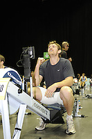 Birmingham, Great Britain, Men's 30-34 Hwt, Garath ARCHER, Durham Amature RC [Ex England/Newcastle and Bristol  Lock [21 England Caps] set the fastest time of the day at 5:54.3, at the 2008 British Indoor Rowing Championships, National Indoor Arena. on  Sunday 26.10.2008 . [Photo, Peter Spurrier/Intersport-images]