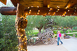 The Tanque Verde Ranch, a dude ranch located on the outskirts of the Saguaro National Park in Tuscon, AZ