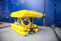 Cherbourg Cité de la Mer  Museo dedicato al mare Globule immersione massima 300 m sfera abitabile da due persone costruita nel 1974