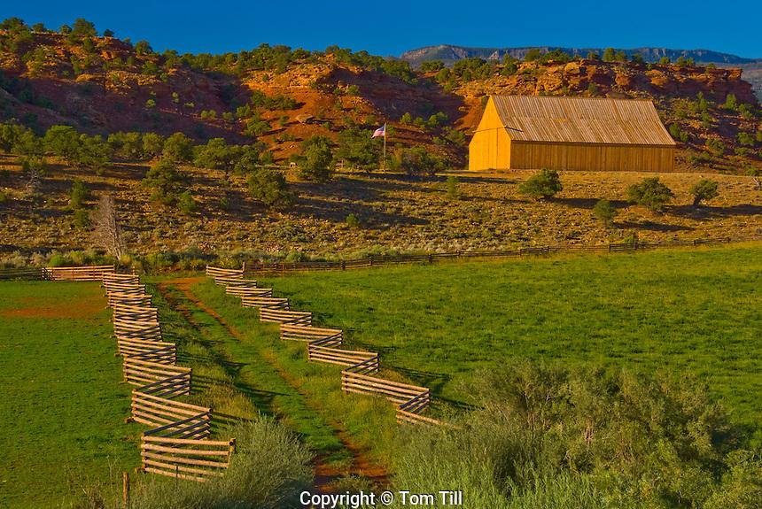 Barn at Rocking Horse Ranch, Boulder Mountain, Utah
