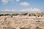 Cyprus, Pafos Archeological site the 13th century Saranda Kolones castle
